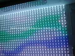 Dot-4 Flex LED Display can be of outdoor use for stage background,etc