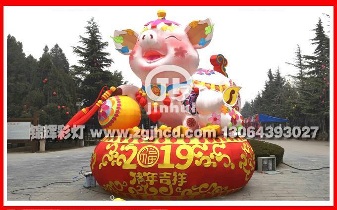 豬年彩燈製作 4