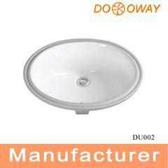 under wash basin