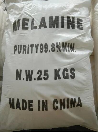 White Melamine Powder 99.8% for Industrial Uses 3
