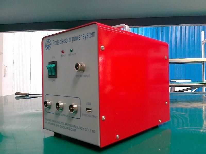 15 watt household portable  solar  power  system