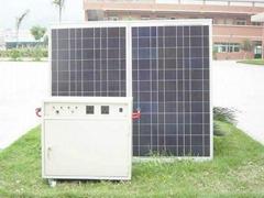 130 watt off grid power system