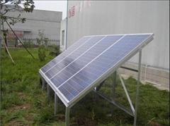 500W solar off-grid power system/station