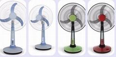Ultrastrong Wind 3 Plastic Blade Home Appliances 12V DC Solar Electric Fan