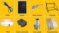 180watt solar pump system