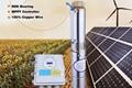immersible pumps solar water pump fish pond 300w solar dc centrifugal pump