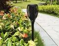 Hot Sale Solar Power Garden Light Outdoor Dancing Flam