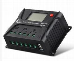 24V/10A 太阳能家用系统 LCD屏显示控制器