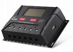 24V/900W 30A 太陽能控制器 LCD屏顯示