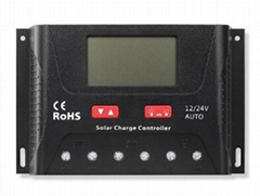 24V/1200W 40A 太阳能控制器 LCD屏显示