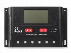 24V/1200W 40A 太陽能控制器 LCD屏顯示