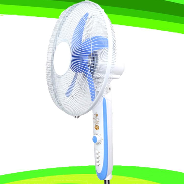 Double Duty AC DC Electric Stand Fan