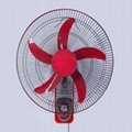 18 Inch High Quality Oscillating Energy Saving 5 Blade DC Solar Wall Fan