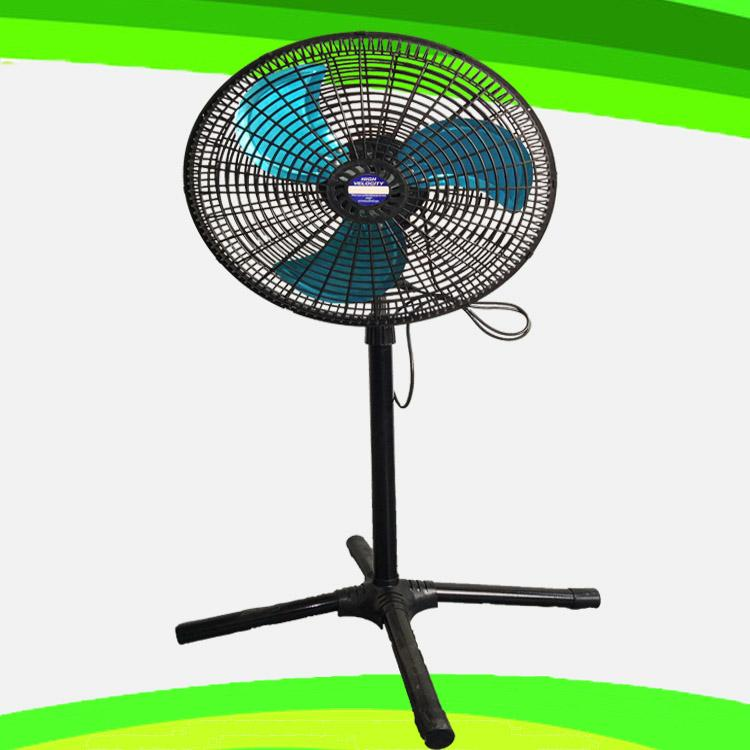 "18 Inch Cyclone Grill AC 110v 220v 18"" Industrial Pedestal Stand Fan 1"
