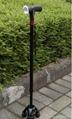 Smart four legs trusty walking stick cane with FM radio LED light magic cane  2