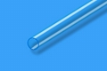 Clear Fused quartz tubing QS-001, QS-012, QS-212