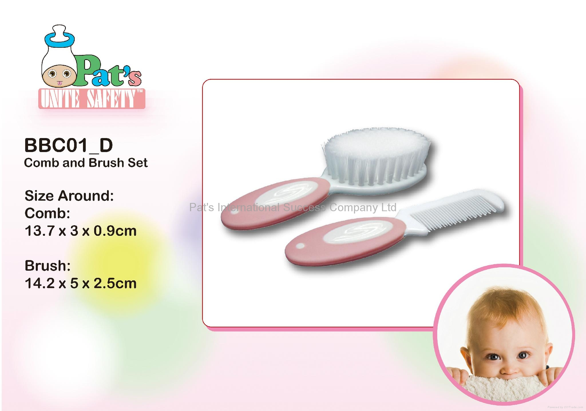 Comb & Brush Set 1