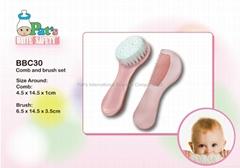 Comb & Brush Set