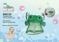 Frog Mesh Bag With Suction Cups