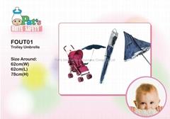 Baby Umbrella For Stroller/ Anti-UV