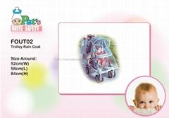 嬰兒車通用防雨罩