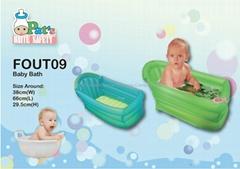 嬰兒充氣浴缸