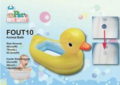 Squeaky Portable Bath Tub (Duck Shape)
