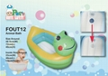 Squeaky Portable Bath Tub (Frog Shape)