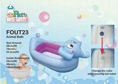發聲嬰兒充氣浴缸(大象)