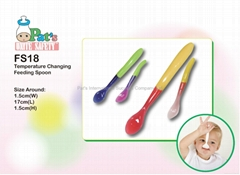 Color Change Feeding Spoon (Hot Product - 1*)