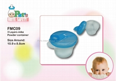 3 Layers Milk Powder Container