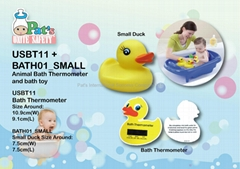 Thermometer Card With Small Duck