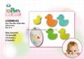 Mini Bath Mat - Duck Series