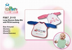 Long Sleeves Baby Bib
