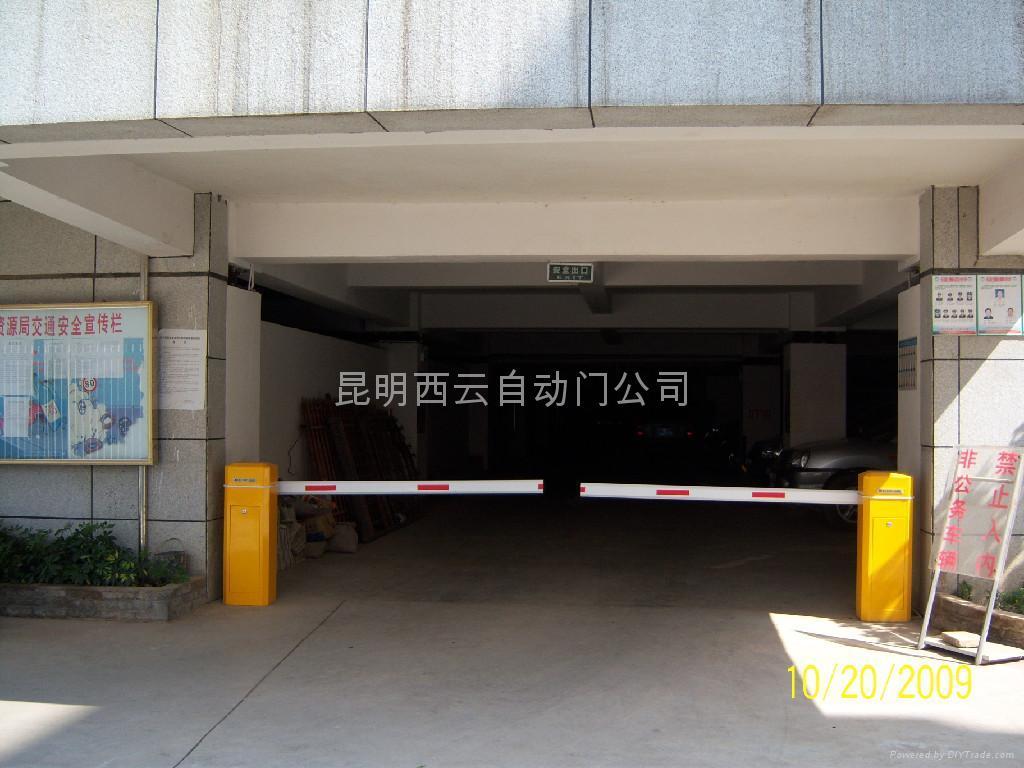 雲南電動道閘  2