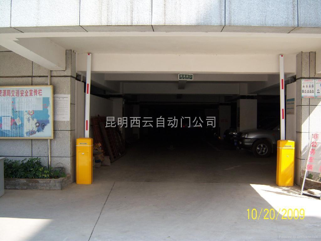 雲南電動道閘  3