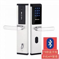 密碼防盜感應門鎖
