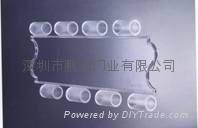 深圳水晶門伸縮門