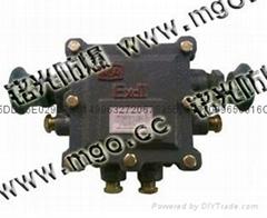 BHD30-0.06/127-10T煤礦用電話機小靈通低壓電纜接線盒