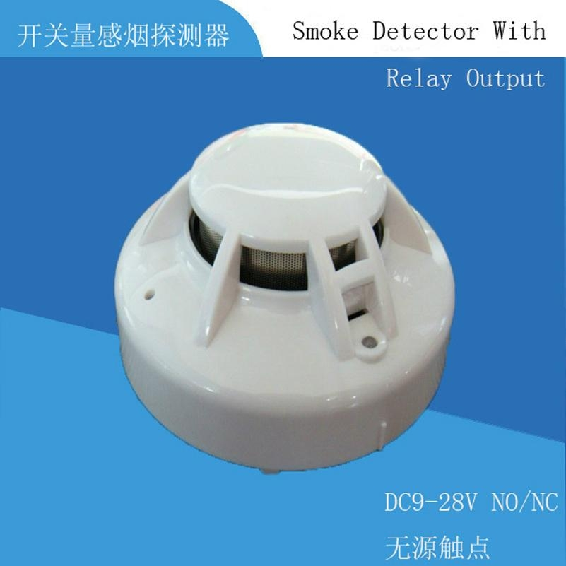 4-Wire Smoke Detector  with relay output 1