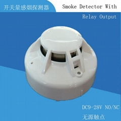 4-Wire Smoke Detector  with relay output