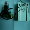 AC Combustible gas detector with electromagnetic valve
