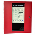 4 zone Conventional Fire Alarm Control Panel alarm host master panel
