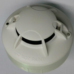 AC220v and Battery Powered Photoelectric Smoke Alarm