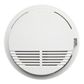 Wireless smoke detector single