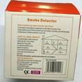 Wireless single smoke detector 9V battery