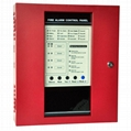 4 zones conventional fire alarm security