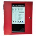 8 zones fire alarm control panel