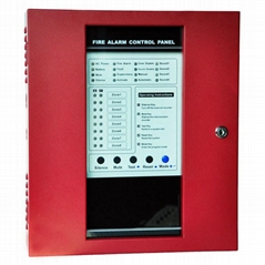 8 zones fire alarm control panel security host controller