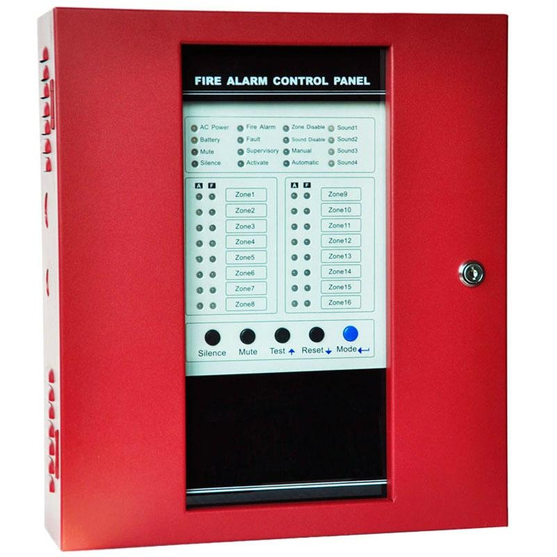Conventional Fire Alarm Control Panel with 16 Zones  1